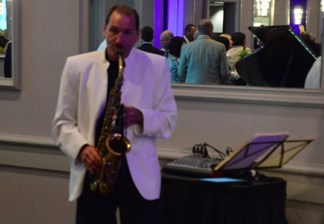 Mayor's Prayer Breakfast 2016 sax