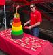 Skittles cake 3