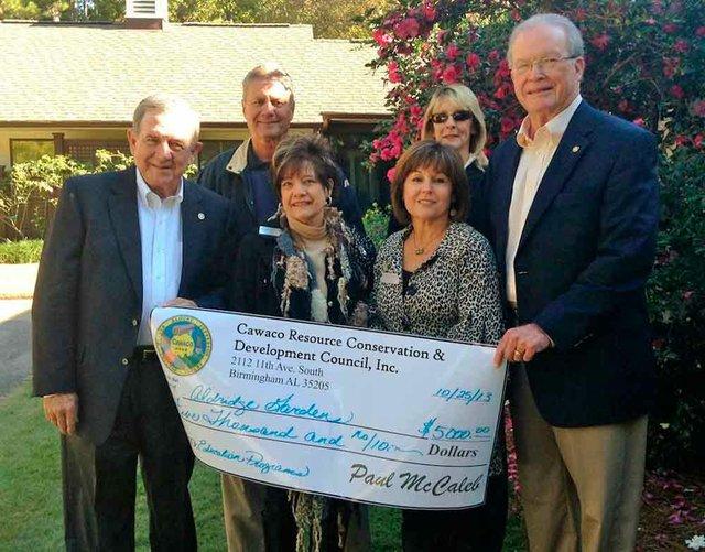 Aldridge Gardens grant education programs