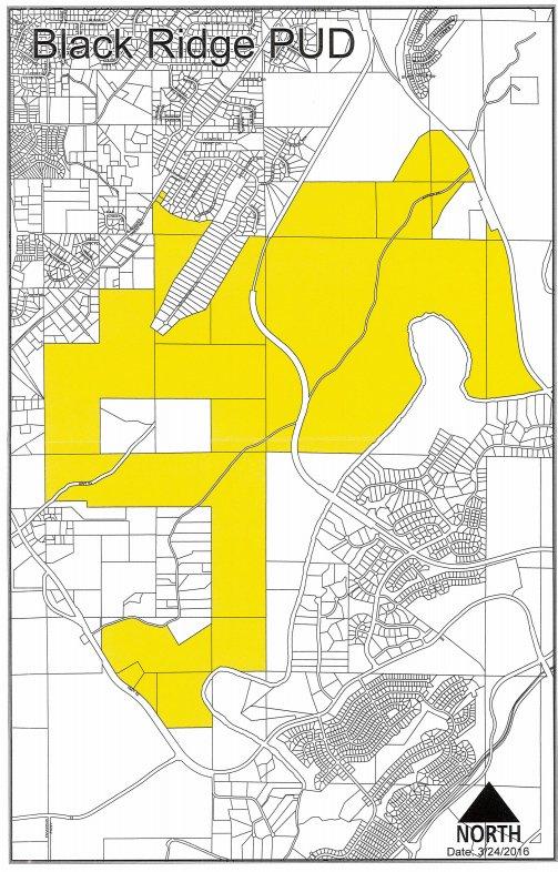 Blackridge zoning map