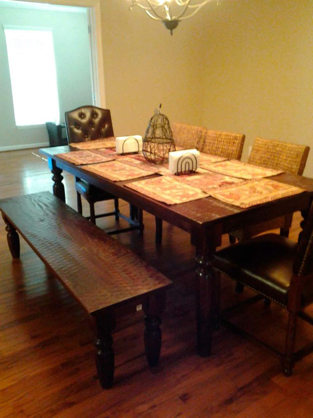 Bluff Park Promise Home table