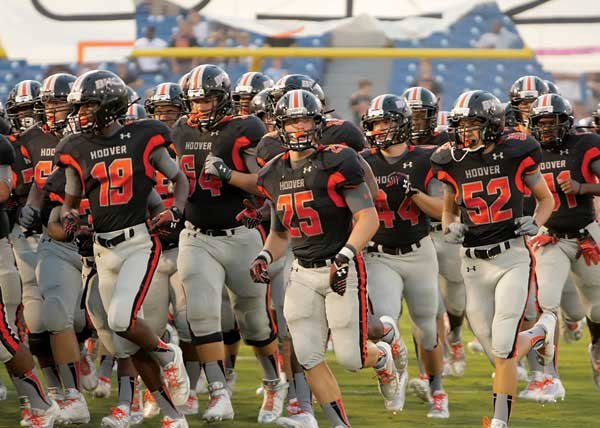Hoover Bucs football team 2013