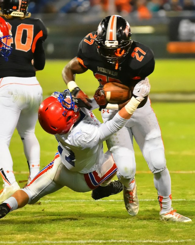 Shaw runs over Vestavia in comeback win