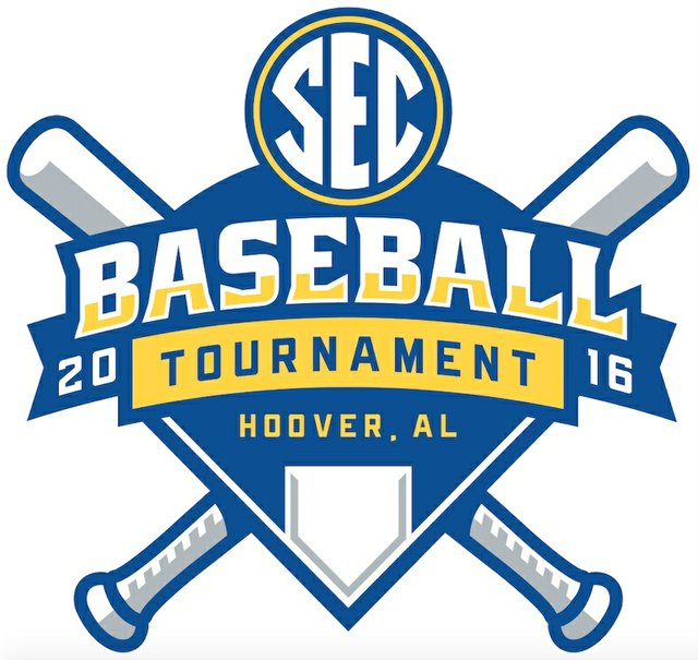 2016 SEC Baseball Tournament logo
