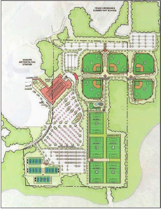 Hoover Sportsplex design June 2016