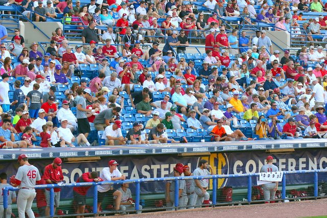 SEC Baseball Tournament crowd 2016