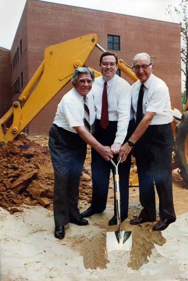 Hunter Street worship center groundbreaking 1991