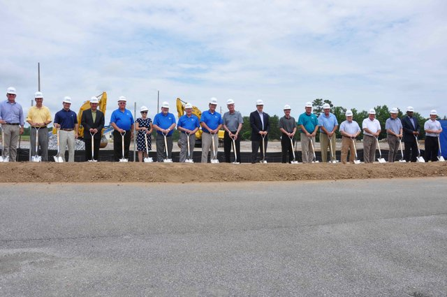 Hoover Sportsplex groundbreaking 2