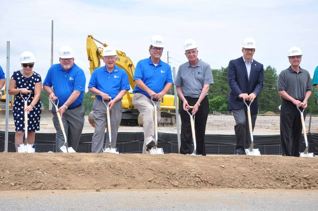 Hoover Sportsplex groundbreaking 1