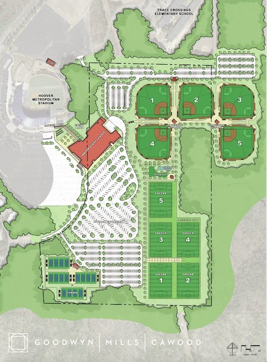 Hoover Event Center Master Plan