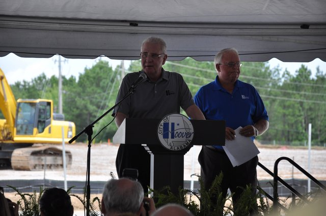 Hoover Sportsplex groundbreaking Ivey