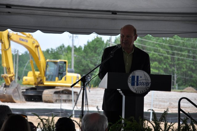 Hoover Sportsplex groundbreaking Oros