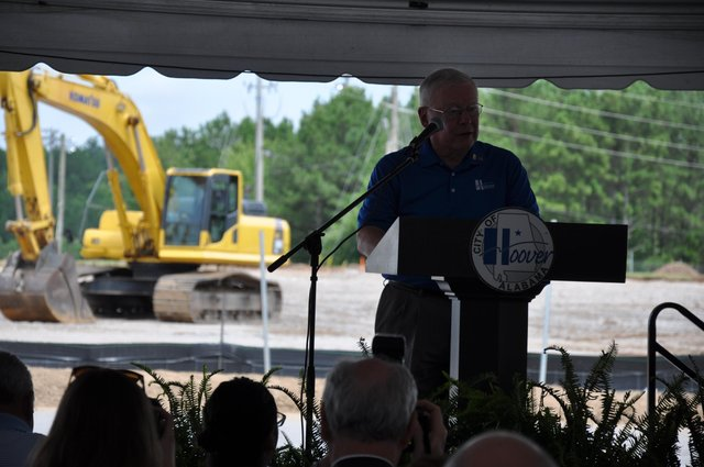 Hoover Sportsplex groundbreaking Rives