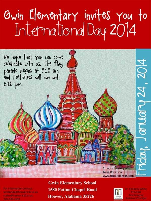 Gwin International Day 2014