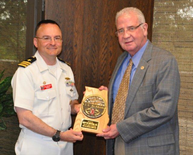 USS Alabama Paul Reinhardt