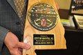 USS Alabama plaque