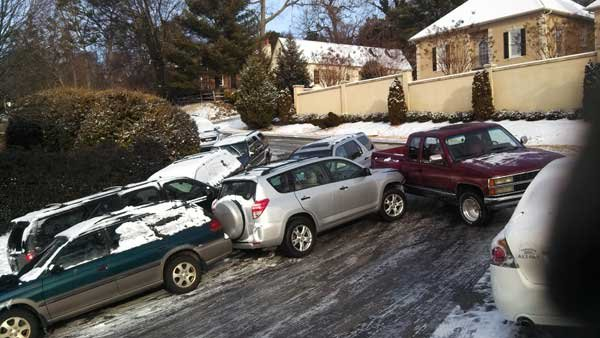 Winter Storm Leon Cahaba Road
