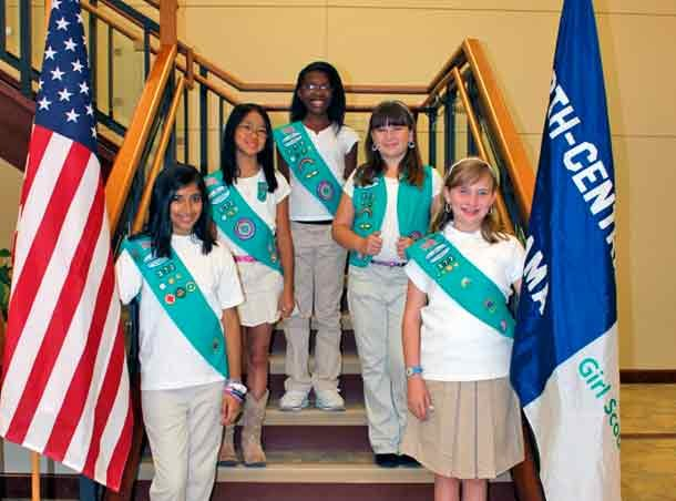 Girl Scout Troop 372 Bronze Award