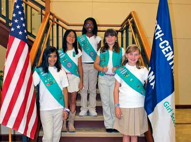 Girl Scout Troop 372 Bronze Award