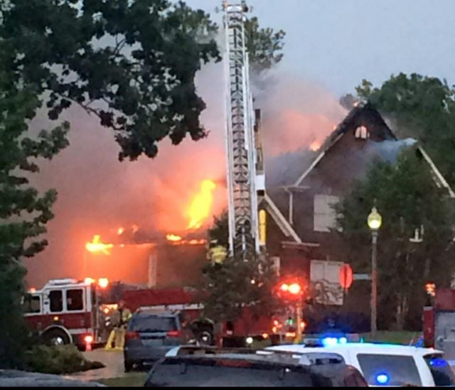 Lake Cyrus house fire 8-6-16
