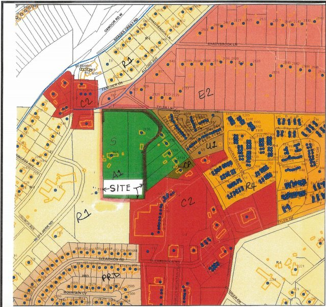 Tyler Road and Alford Avenue rezoning map 2