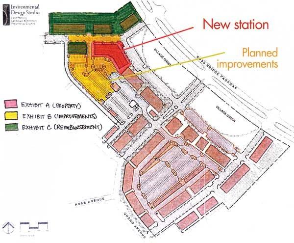 Ross Bridge Fire Station site rendering