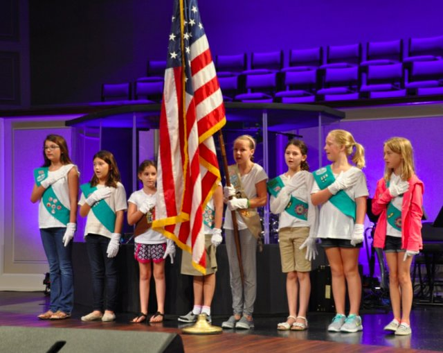 Hoover 2016 Institute Girl Scouts