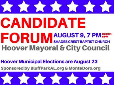 Hoover candidate forum 8-9-16