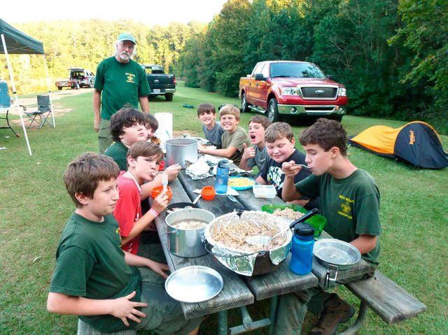 Scout Troop 93 Bob's boys 1