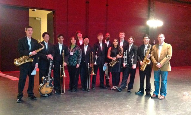 HHS All-State Jazz Band 2014