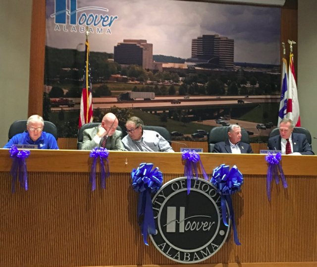 Hoover council 8-30-16