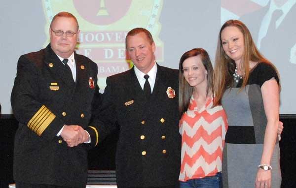 Hoover Fire Department awards Lt. Marshall Tyler