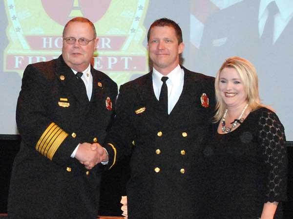 Hoover Fire Department awards Lt. Barry Adams