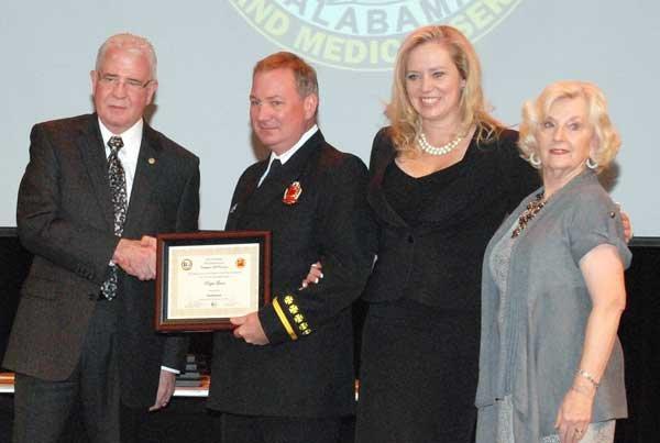 Hoover Fire Department awards Lt. Roger Gunn