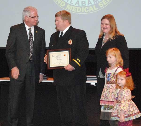 Hoover Fire Department awards Lt. John Craddock