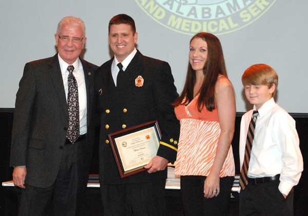Hoover Fire Department awards Lt. Michael Norman