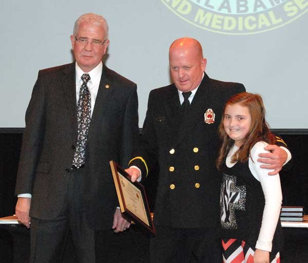 Hoover Fire Department awards Lt. Keith Wilkerson