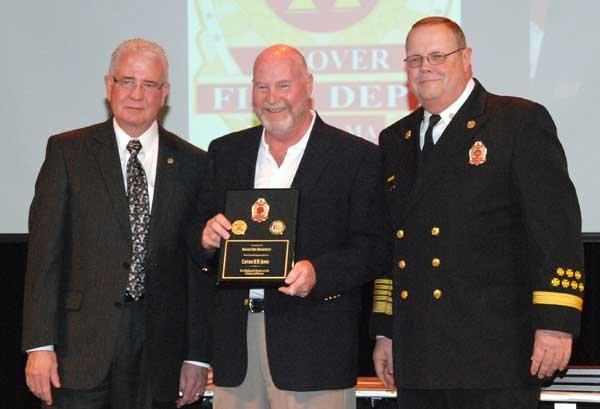 Hoover Fire Department awards Retiree Capt. Blake Jones