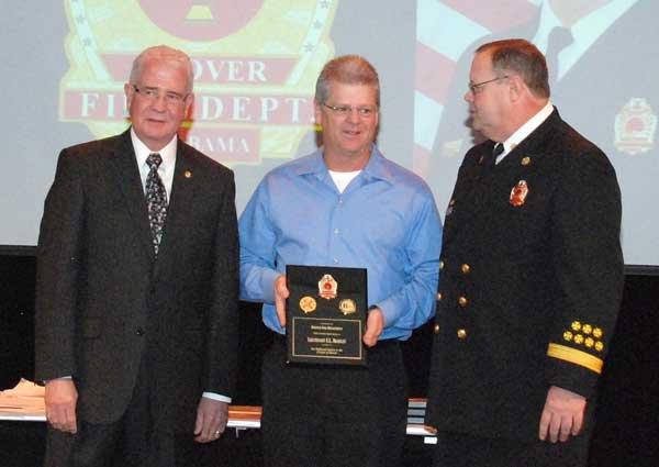 Hoover Fire Department awards Retiree Lt. Eric Bradley
