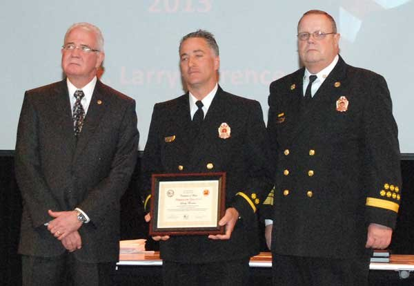 Hoover Fire Department awards 2013 Firefighter of the Year