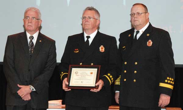 Hoover Fire Department awards 2013 Firefighter-Paramedic of the Year