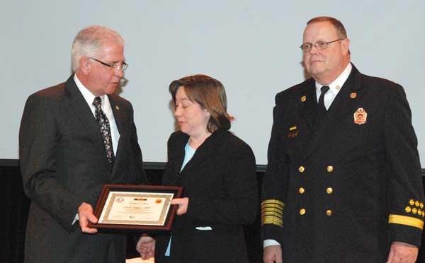 Hoover Fire Department awards Award of Merit