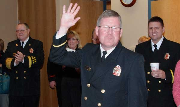 Hoover Fire Department awards Rusty Lowe