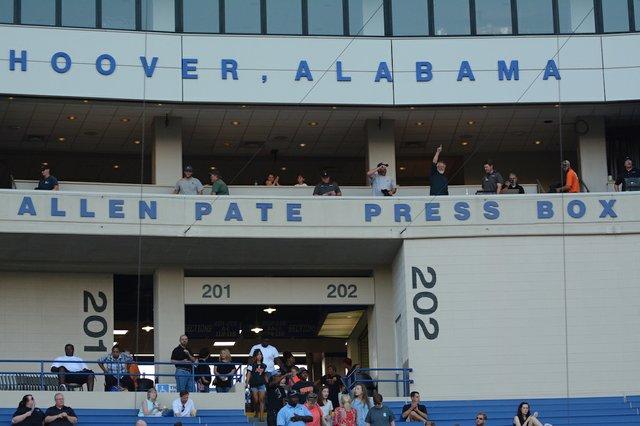 Allen Pate Press Box