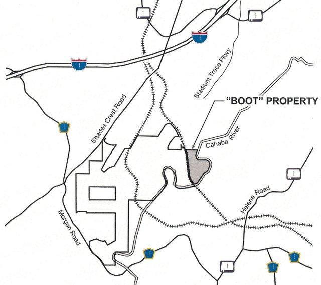 Blackridge boot property map