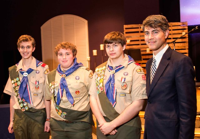 Eagle Scouts recognized by Rep. DeMarco
