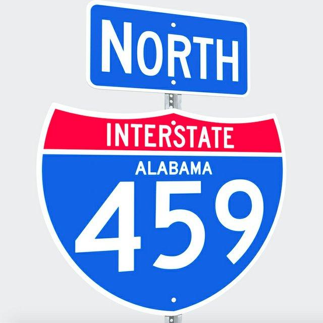 Interstate 459 North sign
