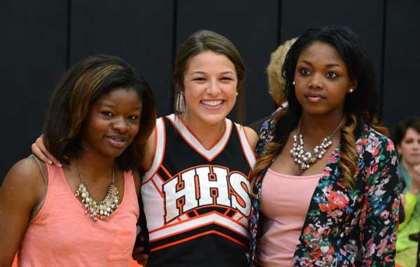 Hoover High celebrates 2013-2014 Girls Relay Indoor National Title