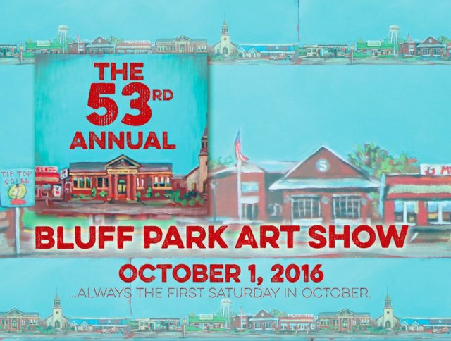 Bluff Park Art Show 2016 card