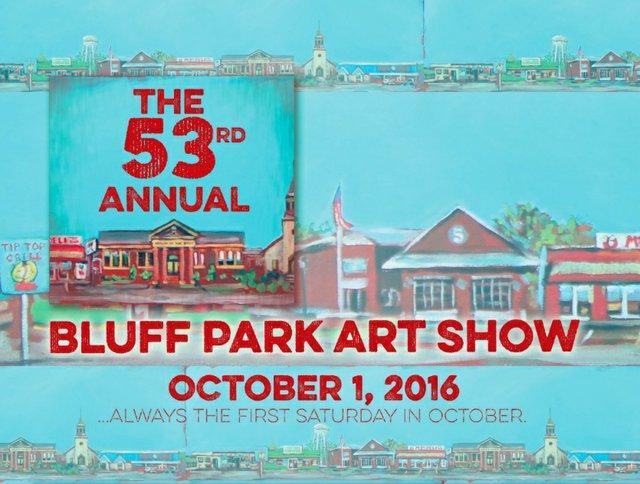 Bluff Park Art Show 2016 card